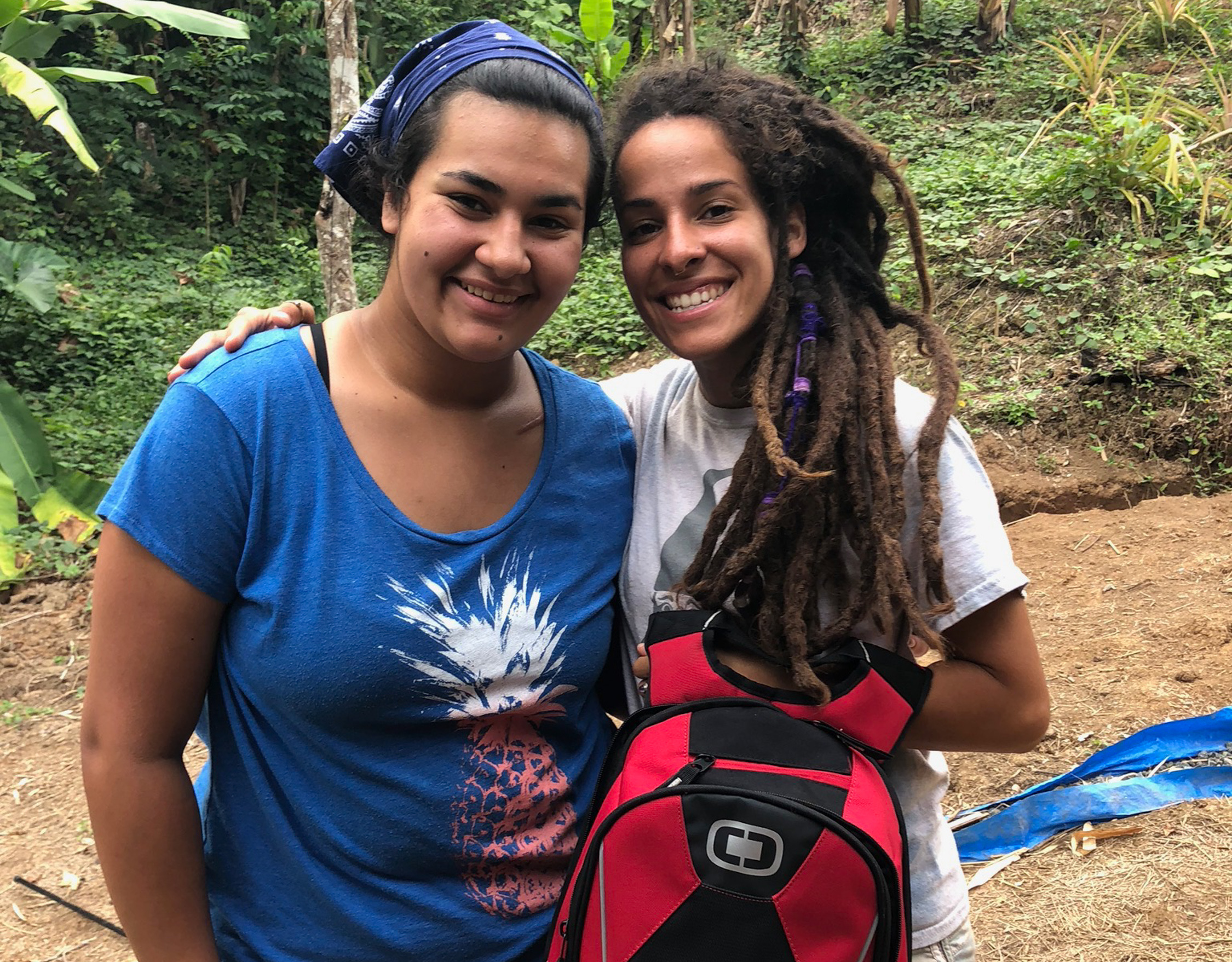 Backpackers Share Their Experience and Rally Support for Puerto Rico 2019