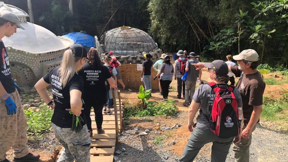 BFOH 2019: Working with Earthships